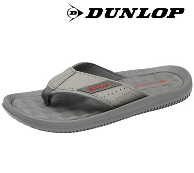 Dunlop Men's Flat Toe Post Summer Beach Holiday Flip Flops Toe Post Sandals • 12.99£