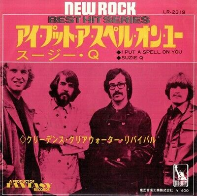 CREEDENCE CLEARWATER REVIVAL I Put A Spell On You Vinyl Record 7 Inch Japan 1969 • 14.99£