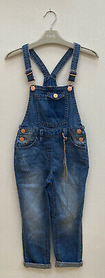 Next Girls Denim Dungarees Age 5 - New With Tags • 5£