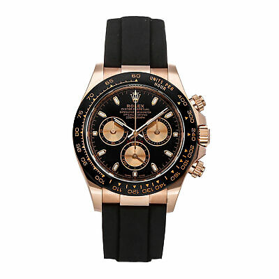 $ CDN48719.07 • Buy Rolex Cosmograph Daytona Auto Everose Gold Mens Strap Watch Chrono 116515LN