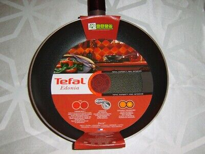 Tefal Edonia 24cm Frying Pan Thermo-Spot & Healthy Non Stick Interior Burgundy • 15.95£