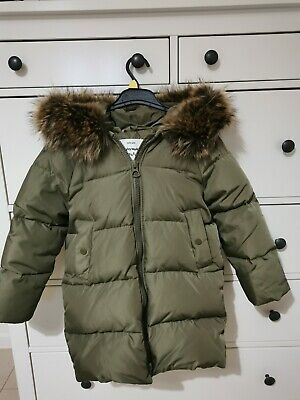 Girls Zara Down Coat Age 8 • 12.60£