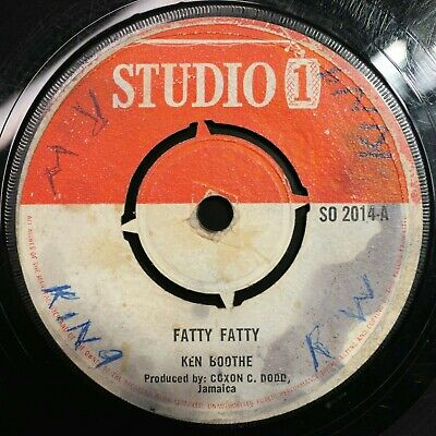 The Heptones/Delroy Wilson  Fatty Fatty / Mother Word  Studio One Reggae 45 Mp3 • 8£