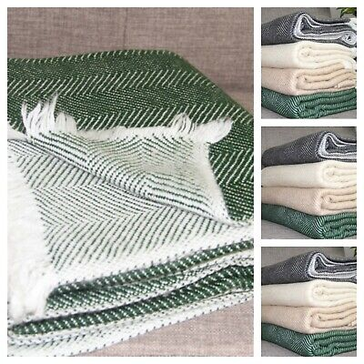 Large Cashmere Scarf Blanket Thick Throws Wrap Bed Sofa Meditation Shawl Warm  • 69£
