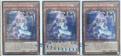AU70 • Buy Yugioh - Ghost Reaper & Winter Cherries X3 Secret Rare SHVI-EN040 - NM - Playset