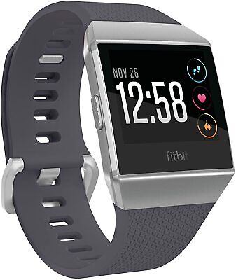 AU179 • Buy Fitbit Ionic Fitness Smart Watch Activity Tracker - Silver