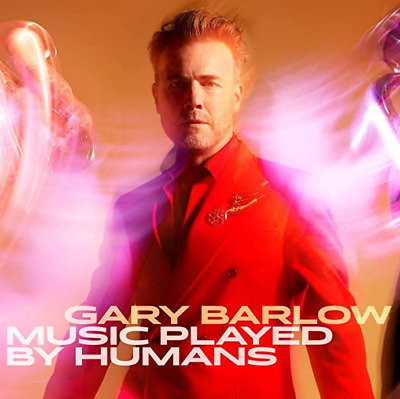Gary Barlow - Music Played By Humans (Deluxe CD & Book) HAND SIGNED *Pre Order* • 29.99£