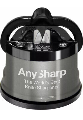 ANY SHARP Metal Pro Edition 'World's Best Knife Sharpener'. Safe, Easy To Use. • 9.99£