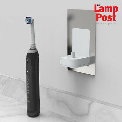 AU77.96 • Buy In-wall Electric Toothbrush Charger Compatible With Oral B/Braun - Choose Finish