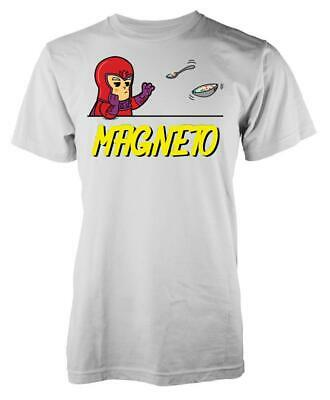 Marvellous Magneto Floating Cereal Adult T Shirt • 8.99£