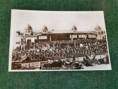 The New Bandstand, Herne Bay Kent Vintage Photographic Postcard  • 3£