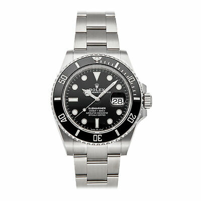 $ CDN21987.07 • Buy Rolex Submariner Date Auto 41mm Steel Mens Oyster Bracelet Watch 126610LN