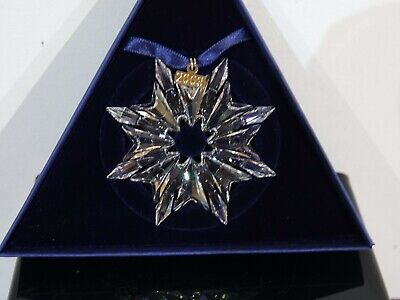 Swarovski Christmas Star 2003 • 63£
