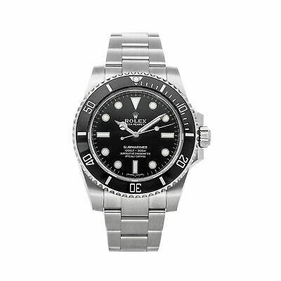 $ CDN15437.73 • Buy Rolex Submariner No Date Auto 40mm Steel Mens Oyster Bracelet Watch 114060