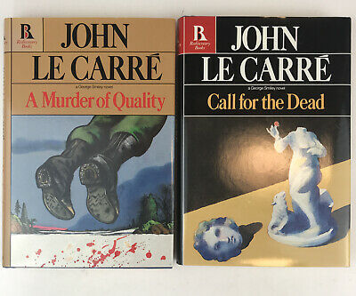 £35.46 • Buy Le Carre A Murder Of Quality + Call For The Dead LOT Unread Copies HC DJ John
