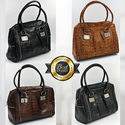 Genuine Leather Women Handbag Shoulder Real Tote Women Vintage Bags • 29.99£