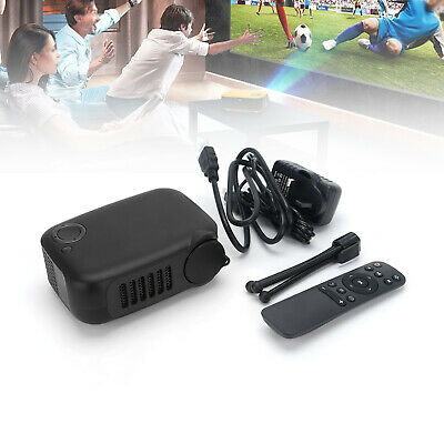 Mini Pocket Home Theater Projector 3D HD 1080P LED Cinema AV USB HDMI SD Gifts • 28.79£