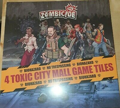 AU17 • Buy Zombicide - Map Tile Set - Toxic City Mall