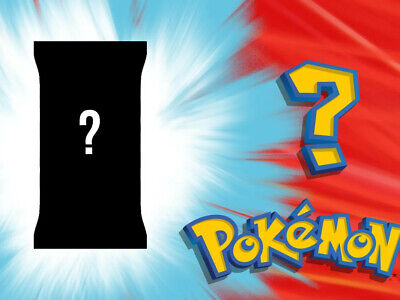 Pokemon Cards Mystery Pack Mystery Cards Mystery Box Fun Surprise Packs • 2£