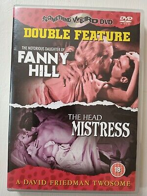 The Notorious Daughter Of FANNY HILL/ THE HEAD MISTRESS: REGION 2 DOUBLE FEATURE • 12£