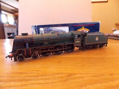 BACHMANN 31-203 LMS REBUILT PATRIOT CLASS 4-6-0 No 45528 R.E.M.E. In BR Green • 50£
