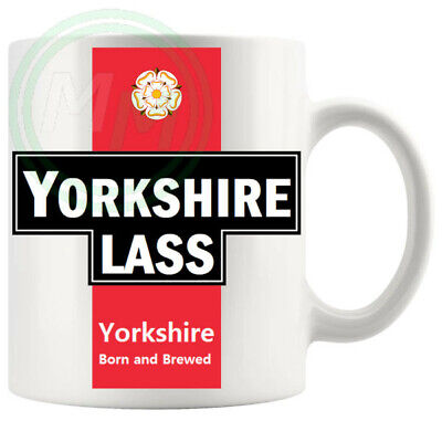 £5.99 • Buy Yorkshire Lass Mug Gifts For Him Her Friends Colleagues