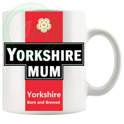 £5.99 • Buy Yorkshire Mum Mug Gifts For Him Her Friends Colleagues