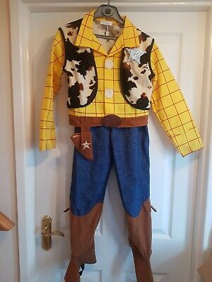 Disney Store Exclusive Toy Story Woody Outfit 9 -10 Yrs 140 Cms • 15.99£