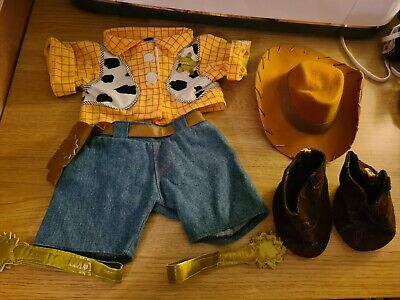 Build A Bear Disney Toy Story Woody Costume / Outfit! • 3.20£