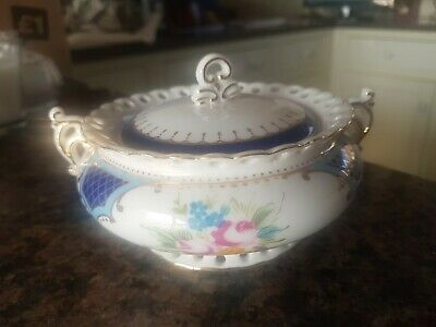 The Regal Bone China Collection Small Lidded Decorative Dish • 9.99£