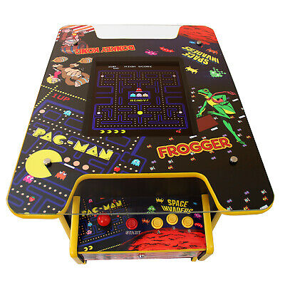 £829.99 • Buy Retro Arcade Machine Cocktail Classic Standing Table Free Play Gaming / 60 Games