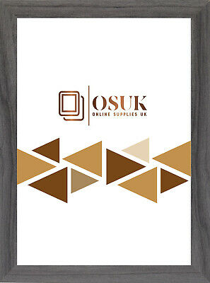Grey Modern Picture Photo Poster Maxi Size Frame A1 A2 A3 A4 10x8 Frame • 2.99£