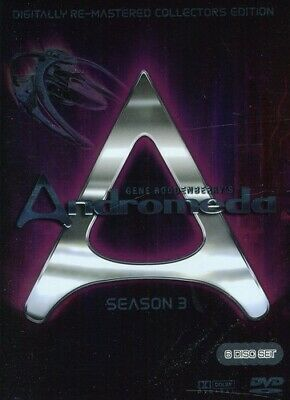 Andromeda ~ Complete Season 3 (Re-Master DVD Incredible Value And Free Shipping! • 12.61£