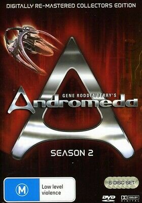 Andromeda ~ Complete Season 2 (Re-Master DVD Incredible Value And Free Shipping! • 16.58£