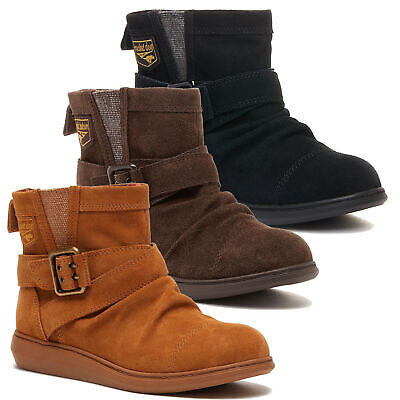 £32.99 • Buy Womens Rocket Dog Mint Casual Snow Fashion Pull On Ankle Boots Sizes 4 To 8