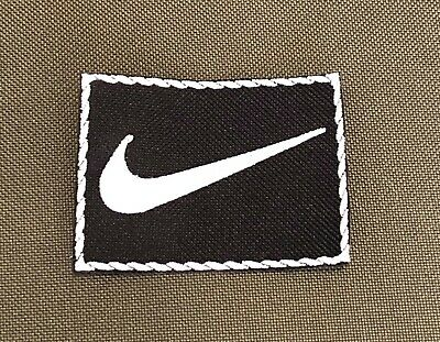 Embroidered Sports Logo Nike White Iron On Or Sew On Patch • 1.78£