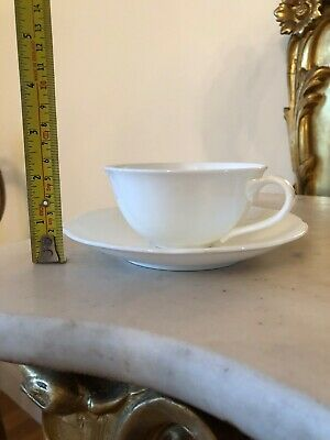 Arco Weiss Villeroy & Boch 4 Inch Tea/coffee Cup And Saucer Brand New Unused • 20£