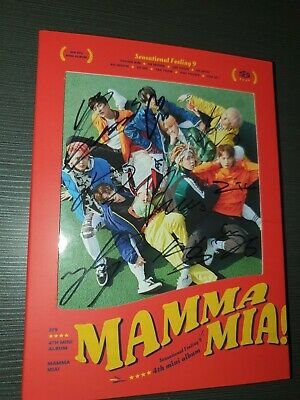 SIGNED SF9 KPOP 4th Mini Album [MAMMA MIA!] CD+Cover+64p Booklet+ Photocard • 21£