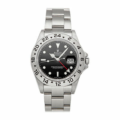$ CDN9539.55 • Buy Rolex Explorer II Auto 40mm Steel Mens Oyster Bracelet Watch Date GMT 16570