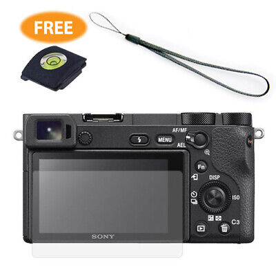 $ CDN6.81 • Buy Combo LCD Screen Protector Cover Hand Strap For Sony A6600 A6500 A6400 A6300