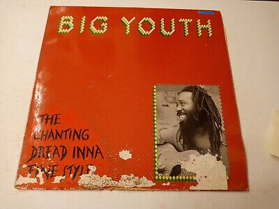 Big Youth ‎– The Chanting Dread Inna Fine Style- Vinyl LP 1982 • 18.08£
