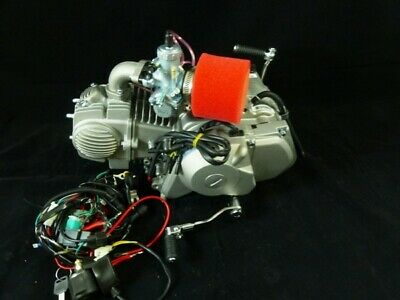 YX140cc Electric Start Semi Auto Engine, Carb & Loom • 388£