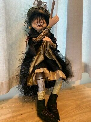 Witches Of Pendle, Flying Elizabeth, 45cm, Hanging Witch • 35£