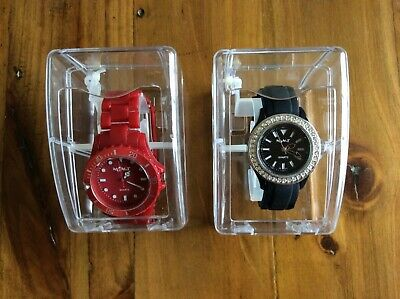 His And Hers Neon T Quartz Watches • 5£