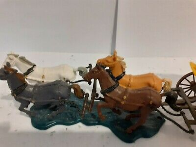 britains Toy Soldiers Wild West Stagecoach In Great Con Missing Figures  • 30£