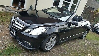 Mercedes E250 Convertible 2011 Blue Efficiency, PX, Swap, WHY. • 5,600£