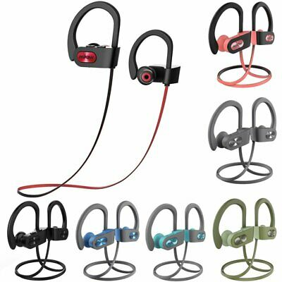 Mpow Bluetooth Headphones Stereo HiFi Earphones For Sports Gym Running With Mic • 18.61£