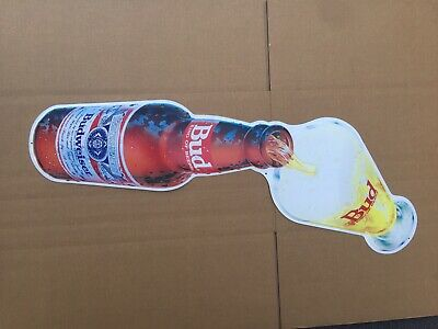$ CDN88.61 • Buy 1989 SIGNET BUDWEISER BUD KING OF BEERS METAL SIGN 32  X 18  EXCELLENT CONDITION