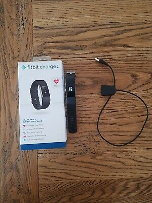 AU49 • Buy Fitbit Charge 2 Heart Rate Black Activity Tracker - Small