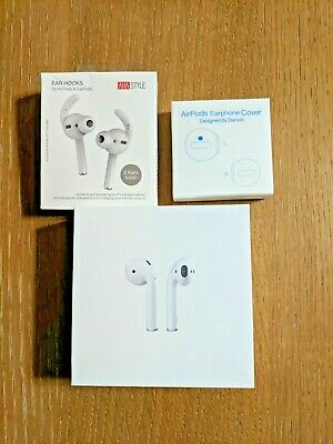 $ CDN40.79 • Buy Apple Airpods 2nd Gen Bundle W/Charging Case, Box, Cable, Ear Hooks, Covers